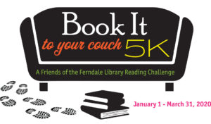 Book it to your couch 5K January 1-March 31, 2020
